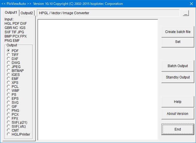 HPGL / Vector / Image Converter
