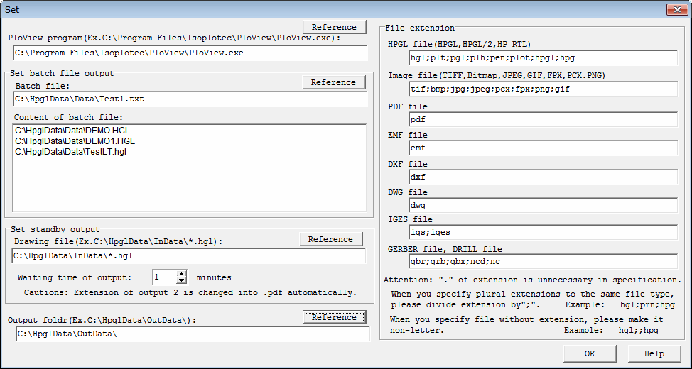HPGL/PDF/DXF/DWG/GERBER/IGES/TIFF   Converter PloViewAuto