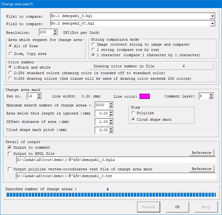 HPGL/PDF/DXF/DWG/GERBER/IGES/TIFF Comparison Viewer PloComp